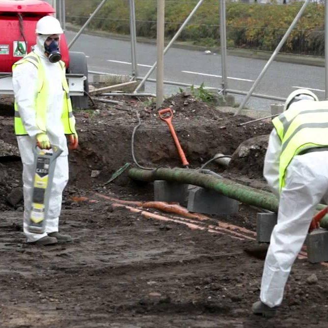 emergency asbestos removal