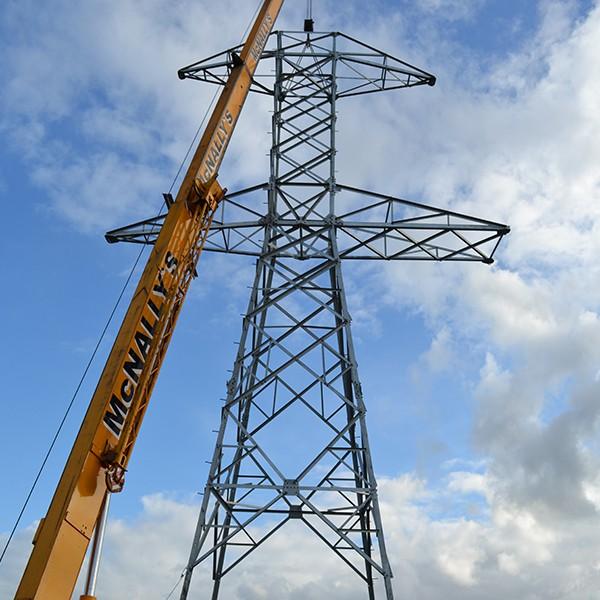 Mast Amp Pylon Erecting Gravity Construction